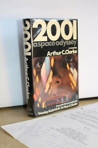 Arthur C Clarke (1968) '2001: A Space Odyssey' signed first edition with letter