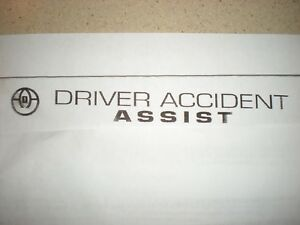 Driver Accident Assist Trade Mark and Logo