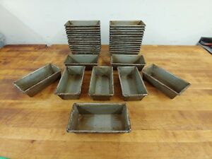 34x Large Vintage Industrial Grade Pound Cake Jello Soap Bar Mold Tray 8
