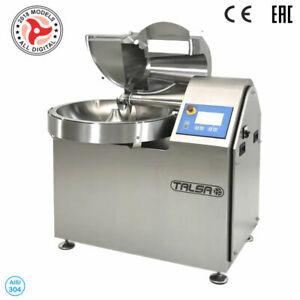 Talsa K50neo PP Commercial 8 Gal Bowl ChopperCutter3 PHVariable Speed220V