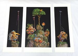 #x27;Six Bird Hunters in Full Camouflage#x27; by James C Christensen Signed amp; Numbered