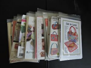 unique purses amp; Bags items quilting sewing patterns $10.95