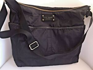 Kate Spade Nylon Black New York Tote Cross Body  Diaper Bag -   (Orig $232)