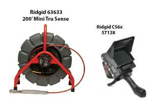 Ridgid 200' Mini Reel (14063) CS6x (57138)
