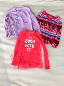 Girls 4T Under Armour And Gymboree Long Sleeve Clothing Lot