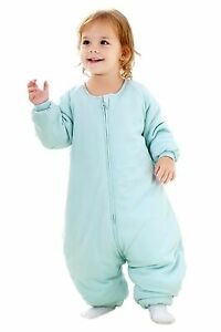 Baby Sleep Bag with Feet Winter Wearable Blanket with Legs Sack for Toddler...
