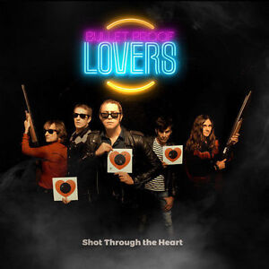 LOT OF 10 NEW Bullet Proof Lovers: Shot Through The Heart CDS