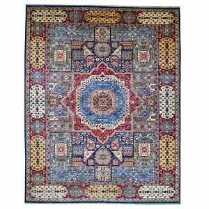 Barkat Rugs Hand-Knotted Mamluk Design Wool (Size 10.0 X 13.10) Brrsf-6063