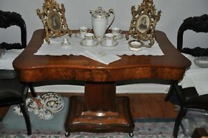 Antique Library Table from George Rogers Clark Home - Historic Museum Piece