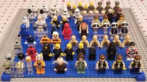 40X LEGO STAR WARS Minifigure Lot FORTY +more SOLO Satele Shan C-3PO Even Piell