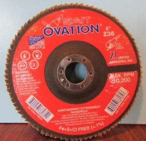 NEW OVATION GRINDING WHEEL 78135 6quot; RIGHT ANGLE GRINDER $13.50