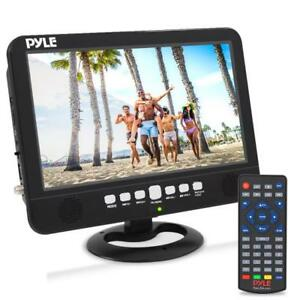 Pyle Pltv 1053 Portable TV Tuner Monitor Display Screen with Built-in