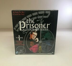 The Prisoner Autograph Series Sealed Trading Card Hobby Box Cards Inc. 2002