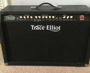 Trace Elliot TRIDENT C100 2x12 Guitar Amp - Green With 5 Button Foot switch)