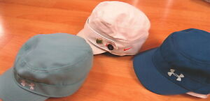 WOMENS UNDER ARMOUR NIKE GOLF HAT LOT S SMALL