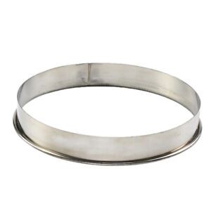 11inch Stainless Steel Metal Ring Baking Mold for Pizza Muffins Crumpets