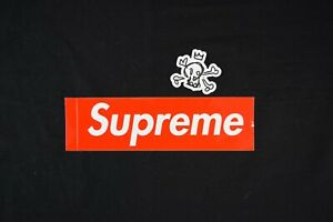 Supreme Box Logo BOGO Sticker Classic Red 100% Authentic Free Shipping !