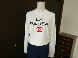 Auth Chanel 201819 Cruise Collection cashmere knit LA PAUSA run Wei look