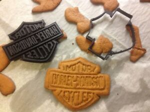 Harley Davidson Cookie Pastry Biscuit Cutter Icing Fondant Baking Bake Kitchen GBP 5.99