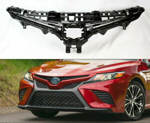 Black Front Bumper Upper Replacement Grill for Toyota Camry 18-19 SE XSE