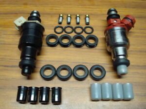 Toyota Corolla MR2 4AGE 4AGELC Fuel Injector O ring Seal Filter Pintle Cap Kit $15.99