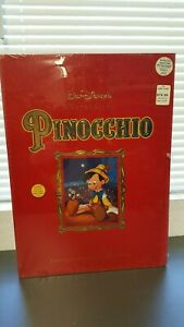 DISNEY PINOCCHIO LITHOGRAPH MASTERPIECE VIDEO EDITION BOX SET COLLECTORS SEALED