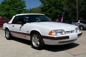 1989 Ford Mustang 56K LX 5.0L 25TH ANN CAROLINA DEALERS SPECIAL EDITION FOX BODY ULTRA NICE SURVIVOR UNRESTORED PONYS AUTO CONVERTIBLE LTD NOT GT NOTCHBACK COUPE