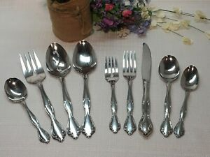 FREE SHIP! 'Choice' Knives, Forks, Spoons Community Stainless CANTATA Beautiful!