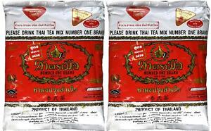 The Original Thai Iced Tea Mix (TWO bags) ~ Number One Brand Imported From