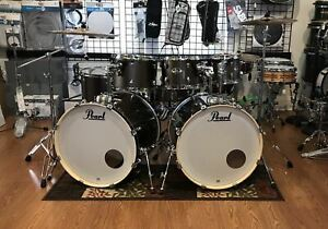 Pearl Export Drum Set 7 Piece Double Bass 2018 Bronze w. Zildjian Cymbals