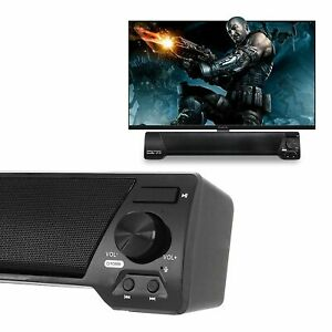 TV Sound Bar Home Theater Subwoofer Soundbar with Bluetooth Wireless  Wired MX