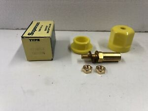 Superior Electric Supercon RS100GY Yellow- 100 Amp Socket Receptacle- Brand New