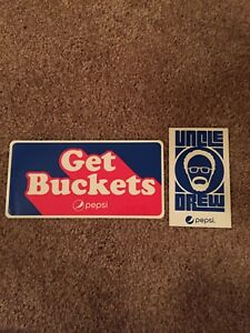 Kyrie Irving/Uncle Drew Stickers/Get Buckets/ Cleveland Cavs/Boston Celtics/Rare