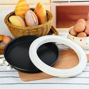Plastic Pizza Sacuing Ring Molds Nonstick for Kitchen Pizza Pans 10 Inch