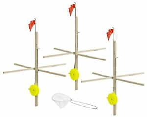 Multi 3 Pack Tip Up Con Tackle