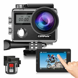 Action Camera Campark X20 HD 4K Sports Cam Touch Screen 20MP WiFi EIS Waterproof