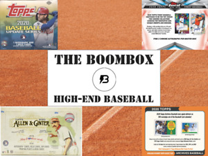 The High-End Boombox BASEBALL (6-10 Hobby Packs PLUS One-Touch Magnetic)