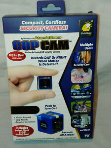 Cop Cam by Atomic Beam As Seen On TV Compact Wireless Security Camera 8GB