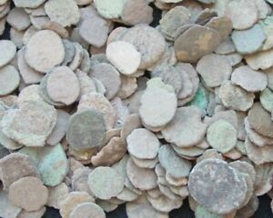 #LOT OF 12 NICE ANCIENT ROMAN CULL COINS UNCLEANED amp; EXTRA COIN ADDED $16.29
