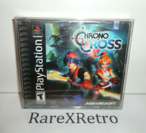 Chrono Cross (Sony PlayStation 1 2000) New Sealed PS1 Black Label Y-Fold PSX