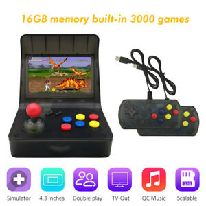 Arcade Style Handheld Game Console 4.3