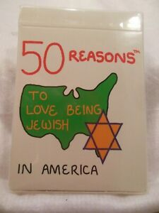 50 REASONS TO LOVE BEING JEWISH IN AMERICA EDUCATIONAL ILLUSTRATED wDEFINITION