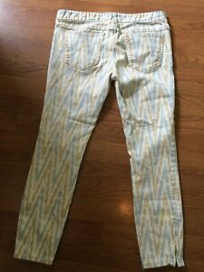 FREE PEOPLE STRAIGHT WOMENS JEAN SIZE (28) 30 X 25 CROP ANKLE