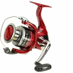SHIMANO CATANA 4000 FC Red Fishing Reel 5.1:1 Gear Ratio Clam Pack BRAND NEW
