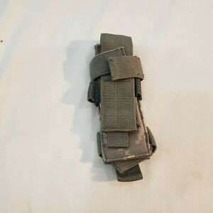 US Army Military ACU Digital Camo Molle 9mm Single Mag Pistol Magazine Pouch
