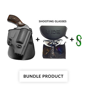 BUNDLE Fobus SW-357 Right Paddle Holster For S&W CRIMSON TRACE 105 305 405