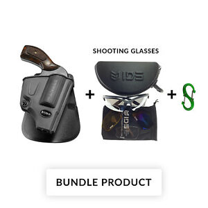 BUNDLE Fobus SW-357 Right Paddle Holster Smith & Wesson Most 357 J Frame640649