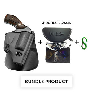 BUNDLE Fobus paddle retention holster for S&W 357640649442.38 s&w special