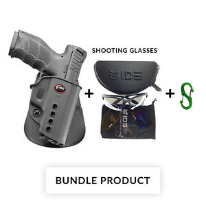 BUNDLE Fobus belt retention holster for heckler & koch h&k vp9 / usp full size