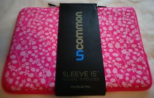 MacBook Pro 15quot; Pink Sleeve by Uncommon
